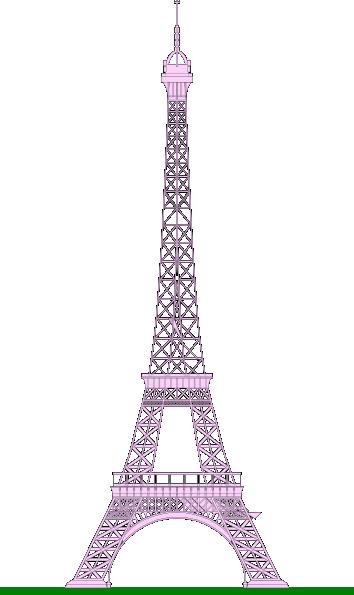 La tour eiffel eiffel tower clip art at vector clip