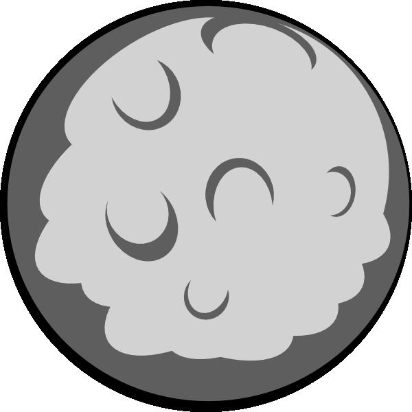 Moon clip art at vector clip art online royalty free