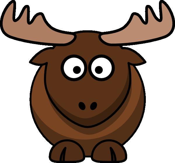 Moose clip art at vector clip art online royalty free