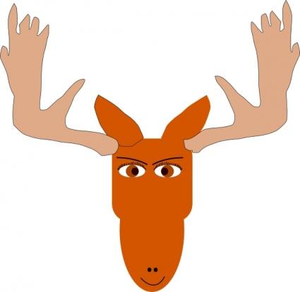 Moose clip art vector moose 6 graphics