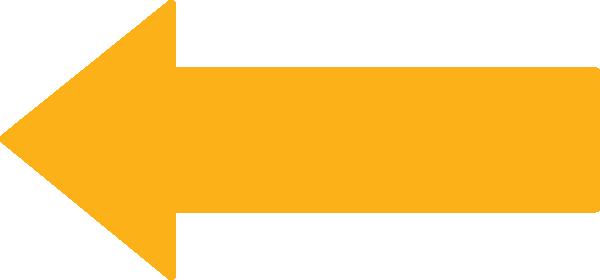 Orange arrow clip art at vector clip art online