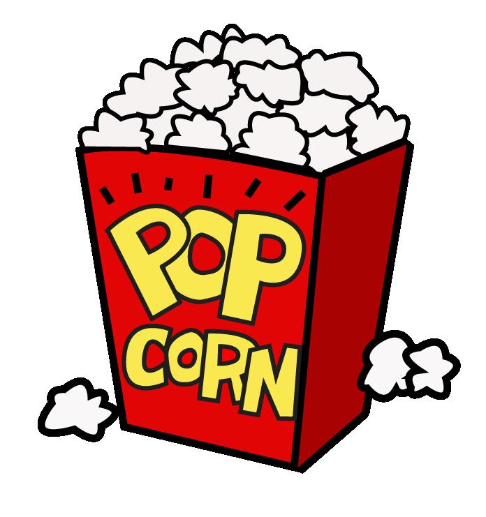 Popcorn clip art movie