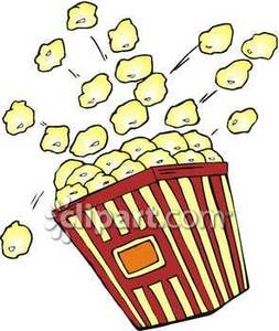 Popcorn clipart free clip art images