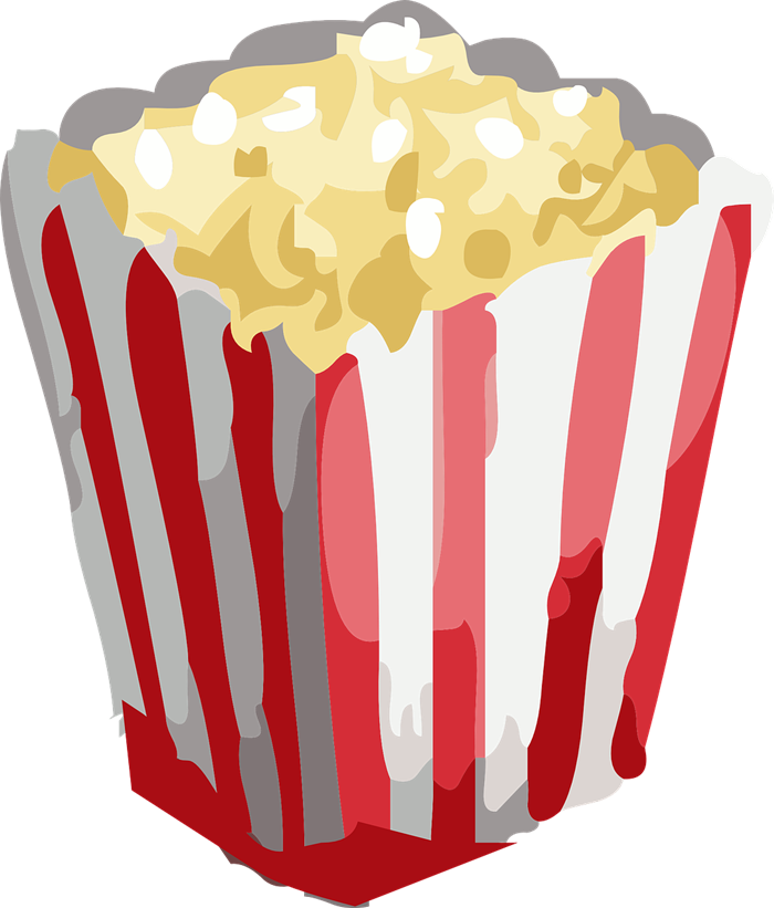 Popcorn border writing paper free clipart images image #4616