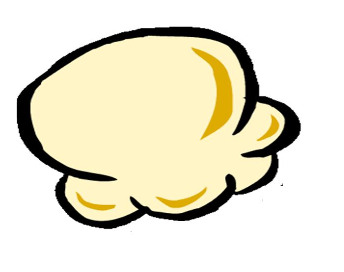 Popcorn template clipart