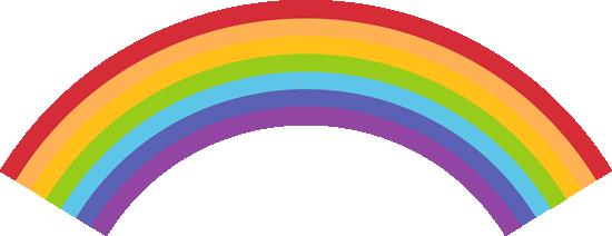 Rainbow clip art rainbow images