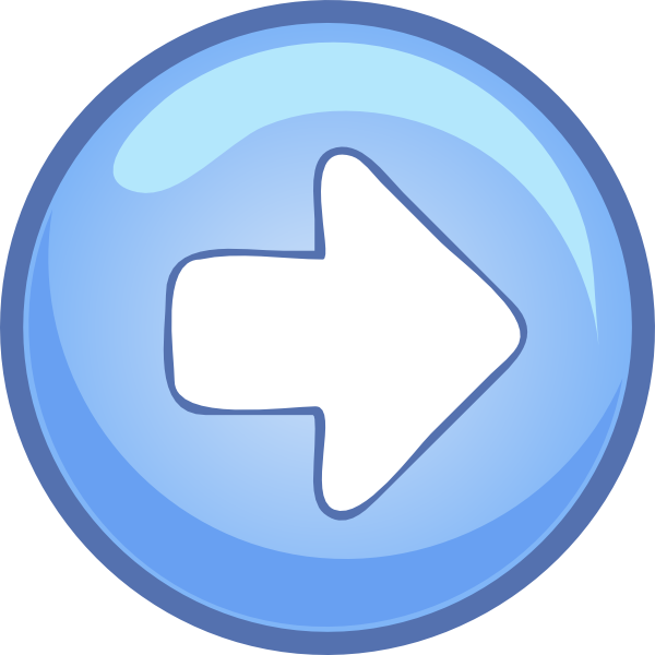 Right blue arrow clip art free vector