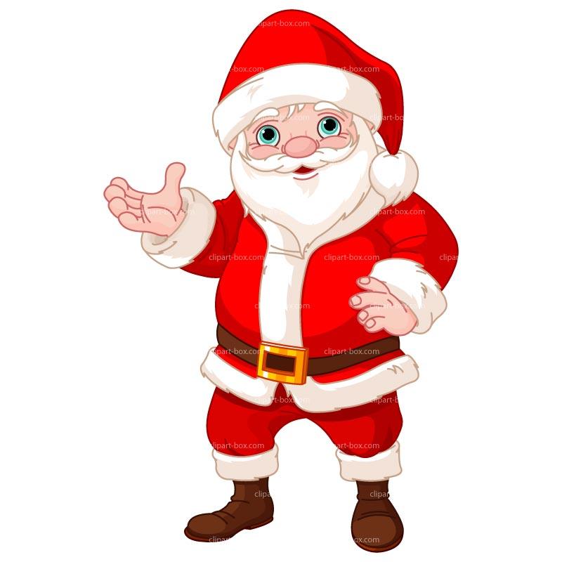 Santa claus clip art images 1