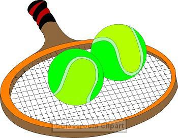 Tennis classroom clipart
