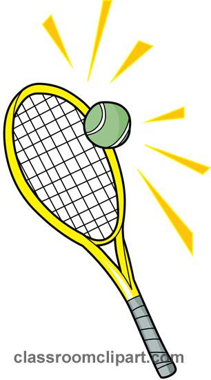 Tennis clipart tennis racquets classroom clipart