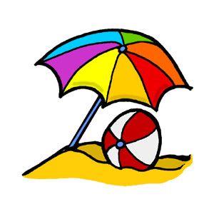 Umbrella beach ball clipart polyvore beach clipart