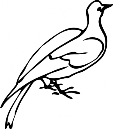 White dove clipart free clipart images