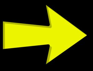 Yellow arrow clip art high quality clip art
