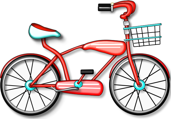 Bicycle bikes clipart