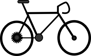 Bicycle clip art 2 new hd template images