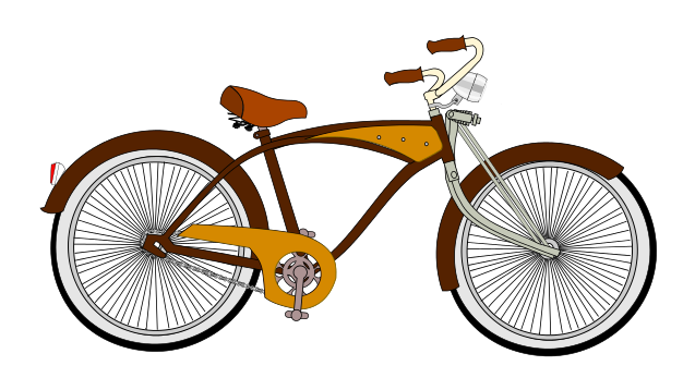 Bicycle clip art  2