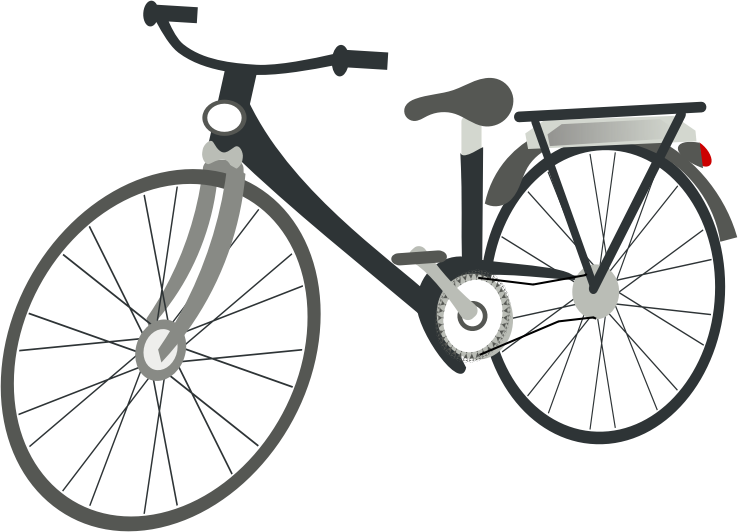 Bicycle clip art  3