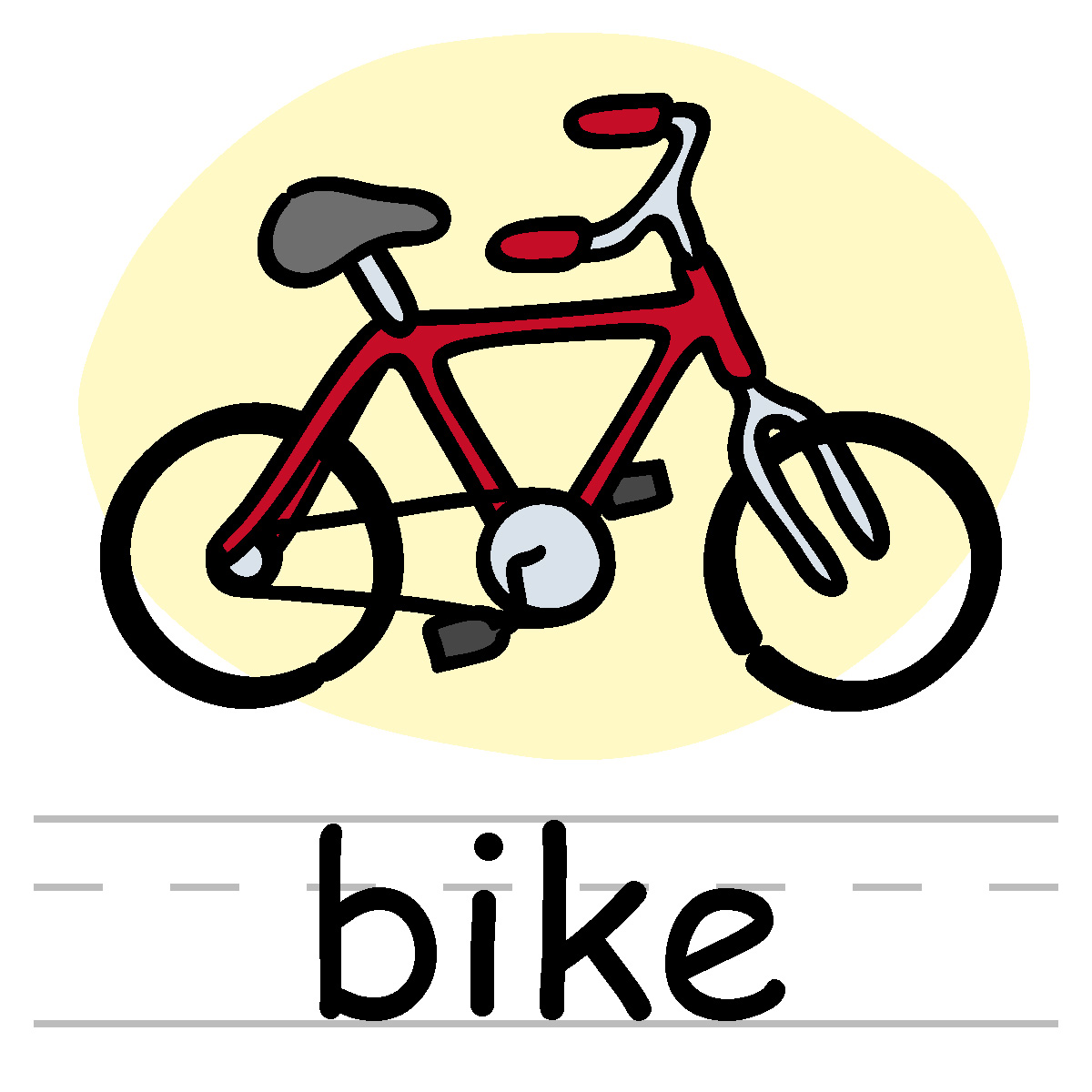 Bicycle clip art bikes clipart