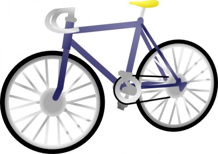 Bicycle clip art free vector in open office drawing svg svg