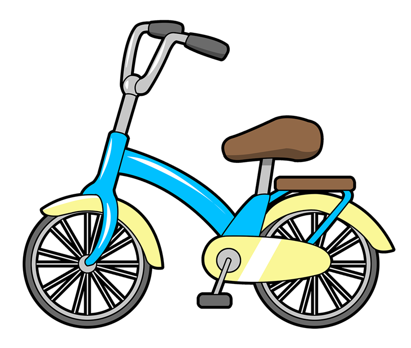 Bicycle transportation clip art  2