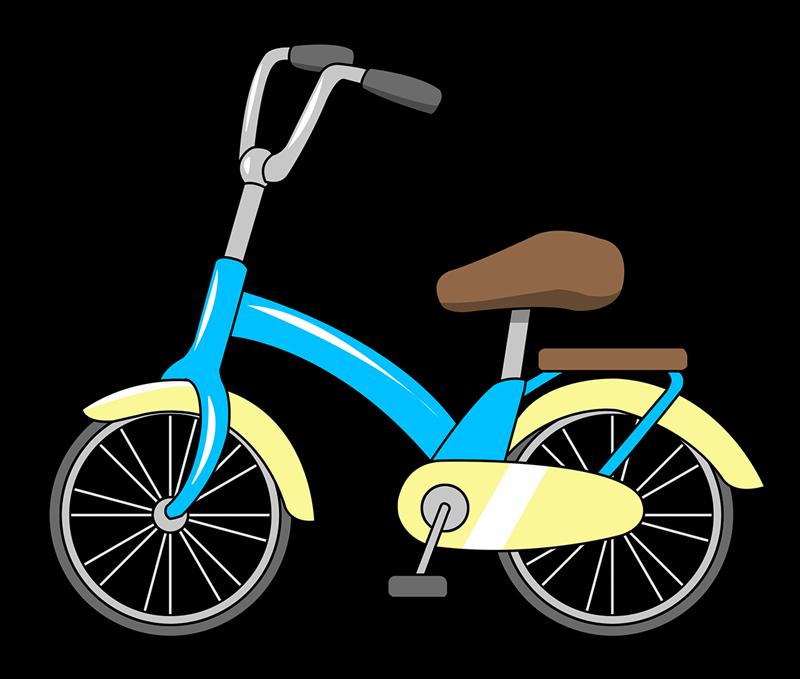 Bicycle transportation clip art  2