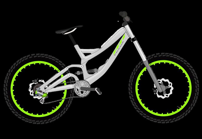 Bicycle transportation clip art