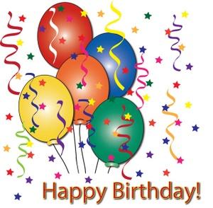 Birthday clip art birthdays birthday parties balloons 2