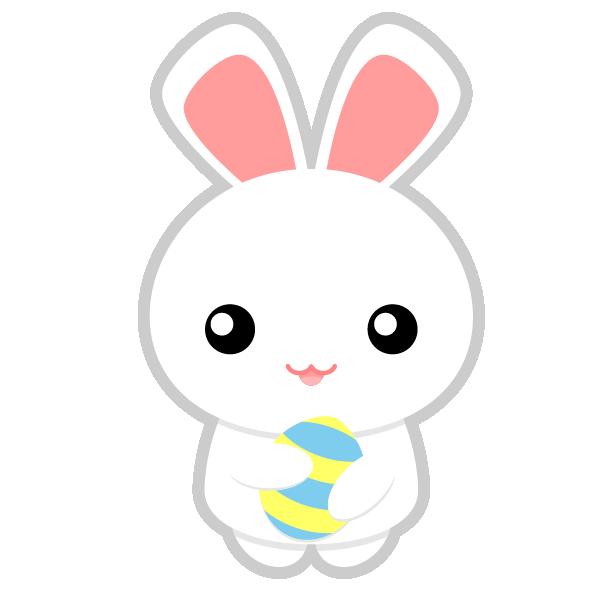 Bunny clip art  3