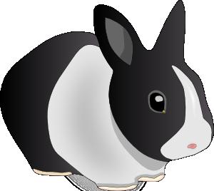 Bunny danko friendly rabbit clip art at vector clip art