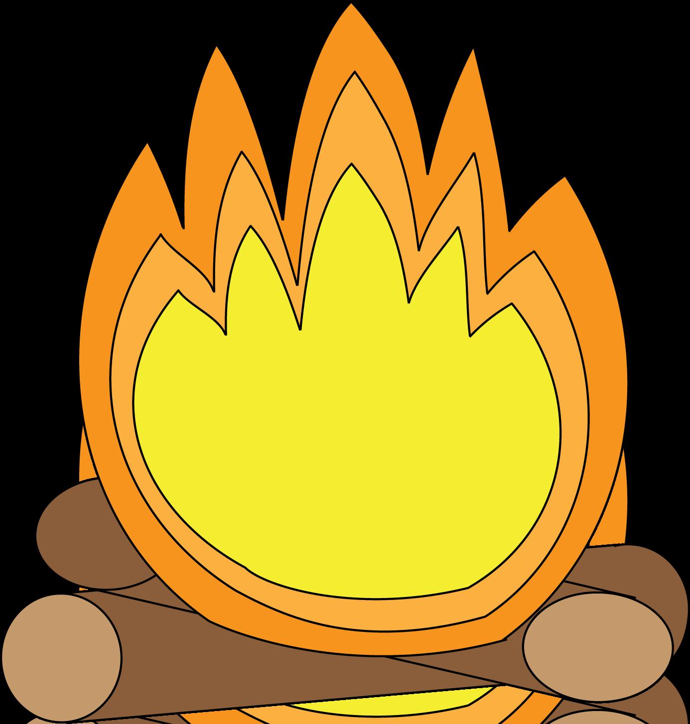 Campfire clipart 3