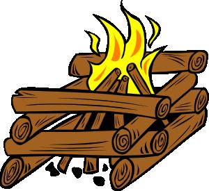 Campfire clipart 7