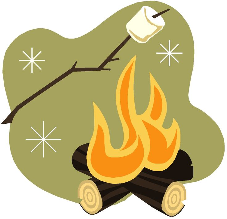 Campfire cliparts
