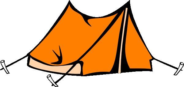 Campfire tent clipart 0