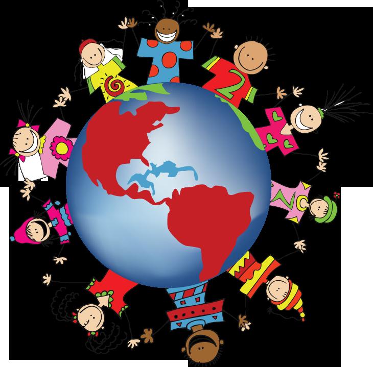 Children around the world clipart free clipart