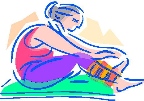 Clip art clip art yoga 5