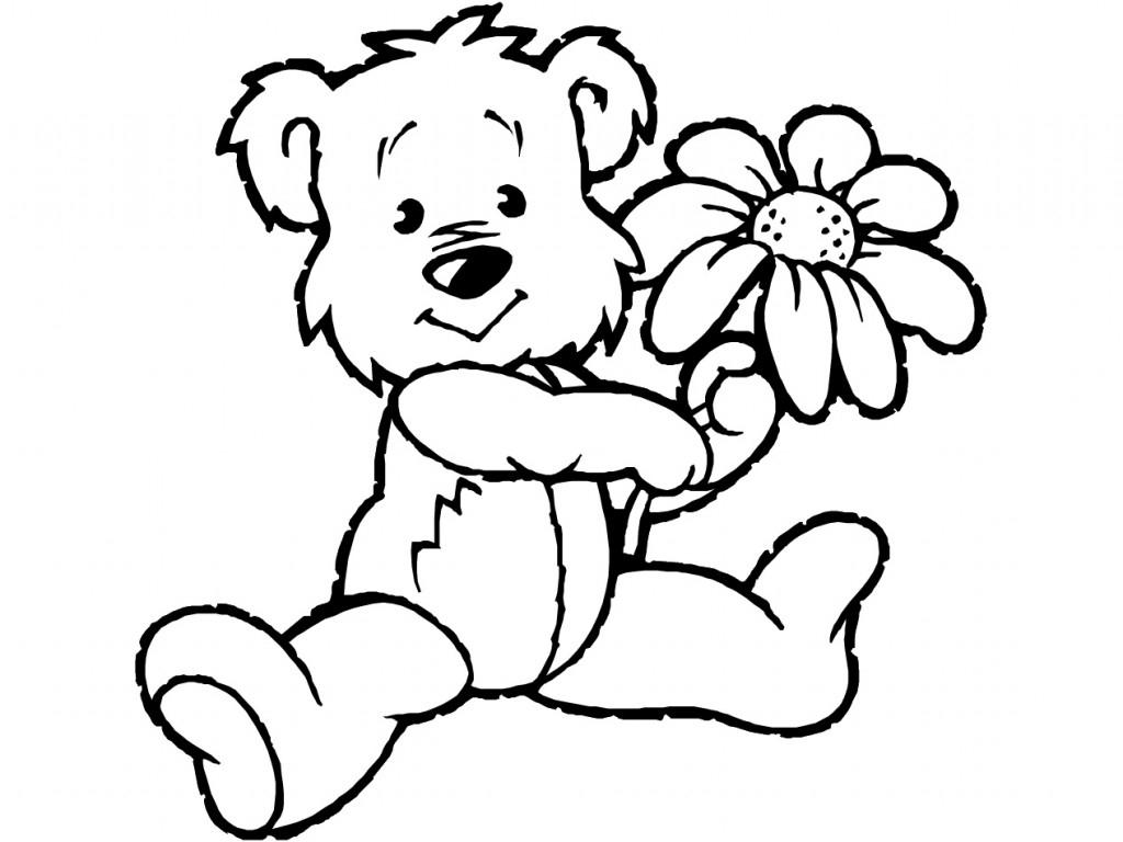 Clip art color teddy bear coloring alamo area family wallpaper