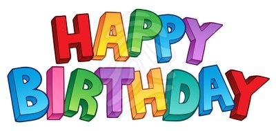 Clip art happy birthday 1 new hd template images