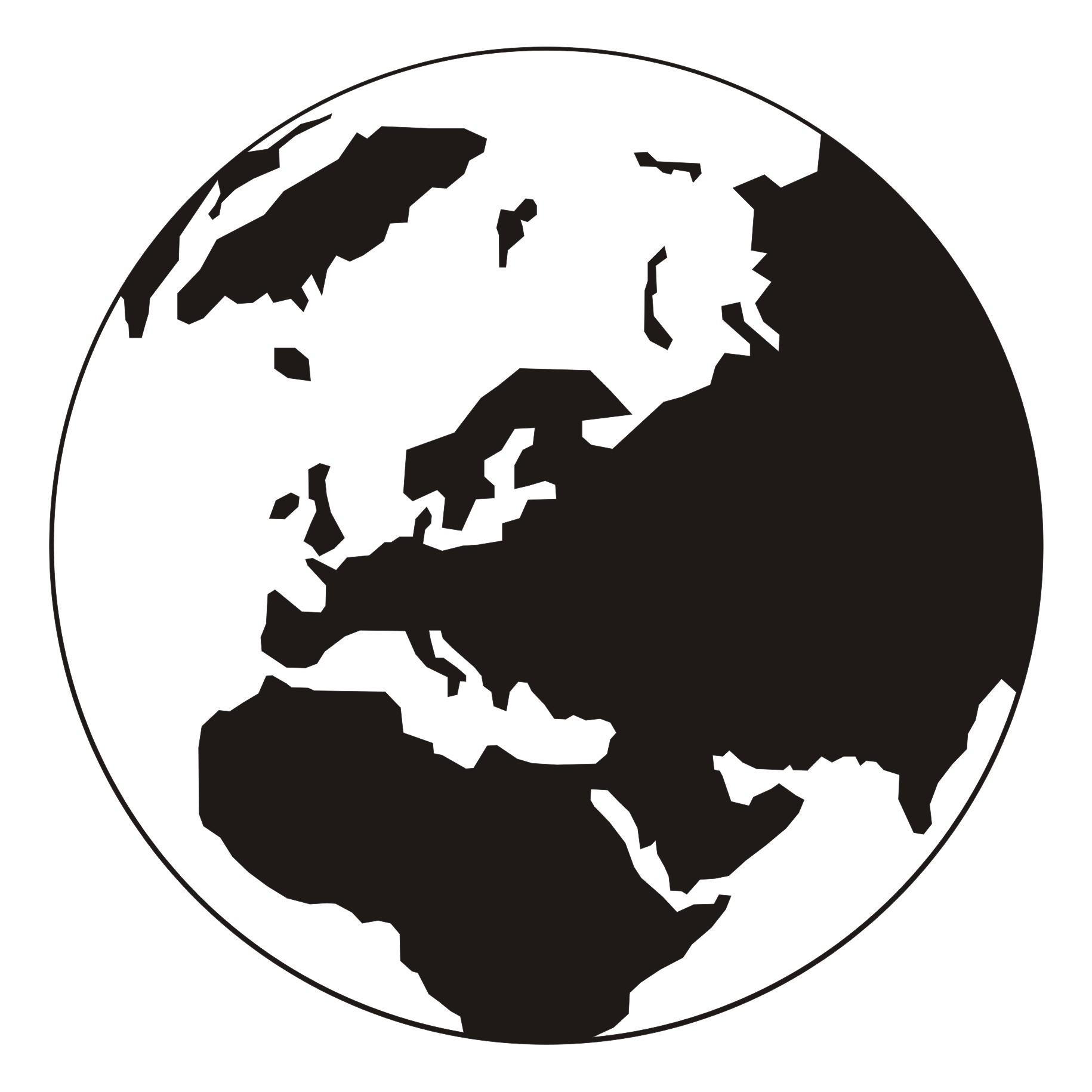 Clip art of world clipart 2