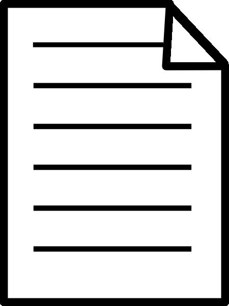 Clip art paper clipart