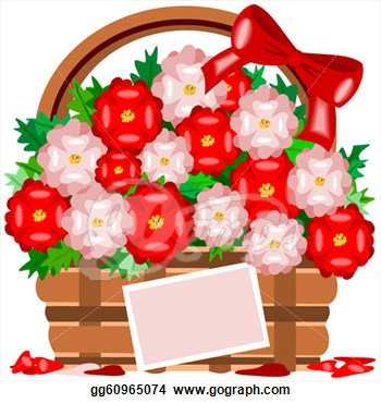 Clip art vector may flowers stock gg