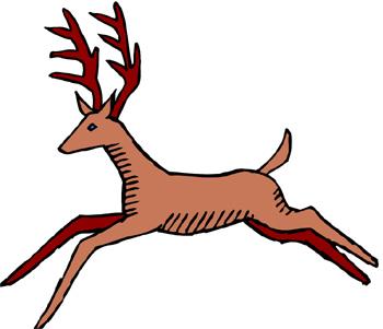 Free deer clip art clipart image #6394