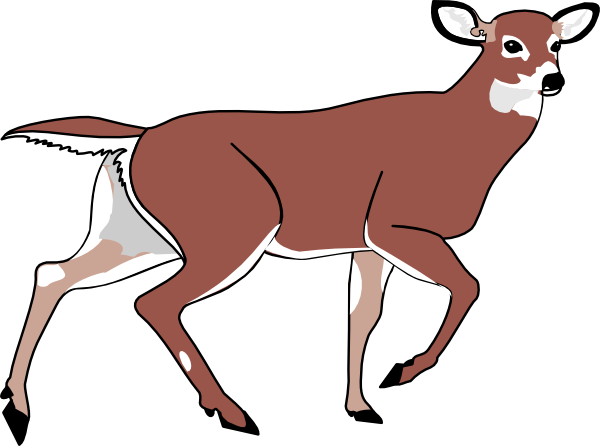 Cute deer clipart free clipart images