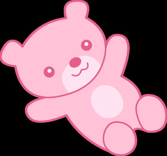 Cute pink teddy bear clipart free clip art