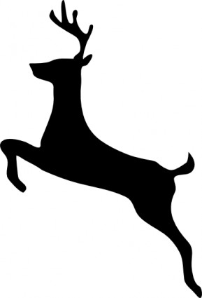 Deer head clip art free vector in open office drawing svg svg