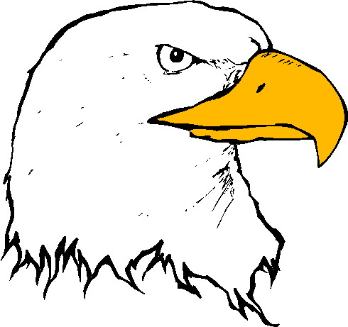Eagle clip art 6