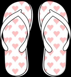 Flip flop clip art at vector clip art online royalty