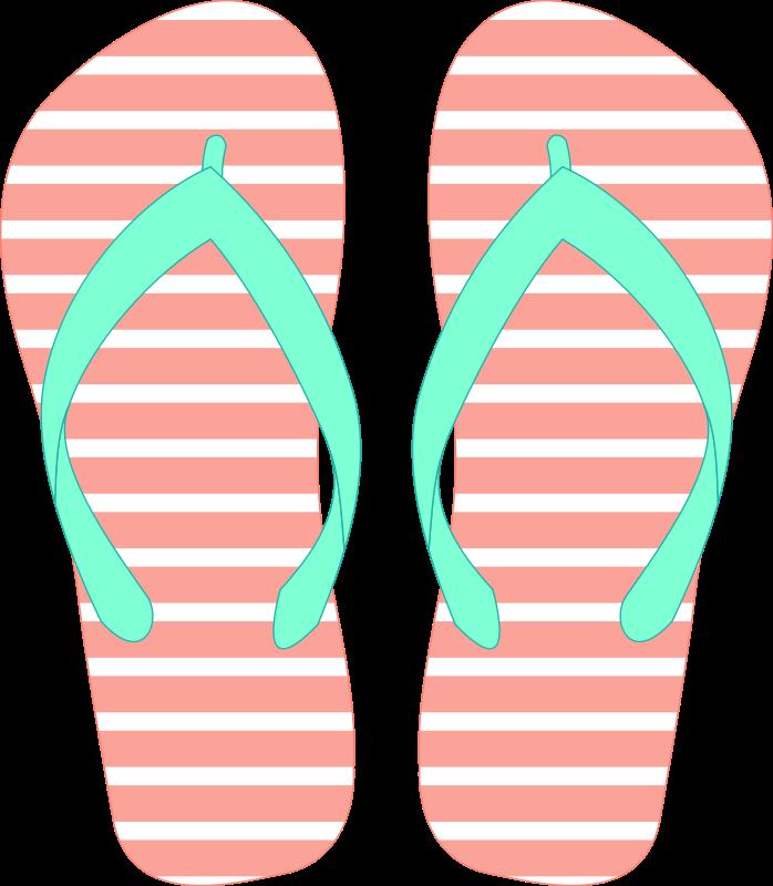 Flip flop clipart 9