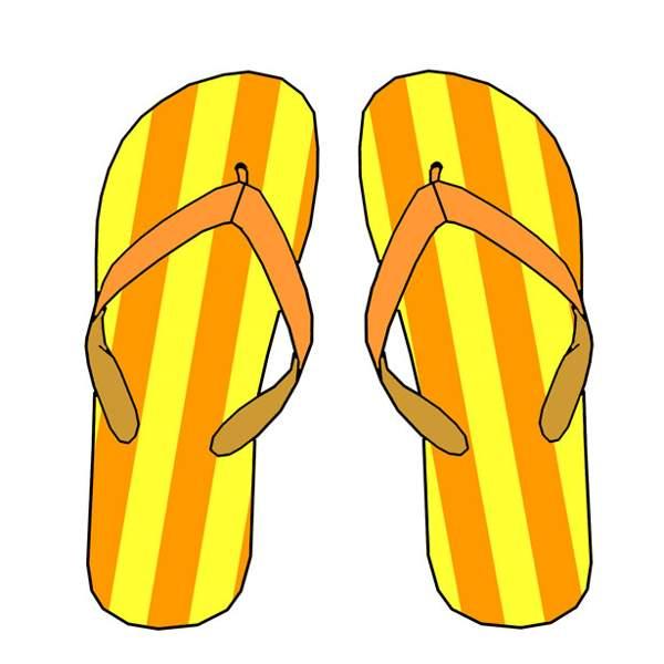 Flip flop clipart free clip art images 2