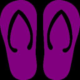 Red flip flops clip art red flip flops image image #6688