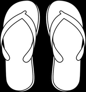 Flip flops clip art at vector clip art online royalty
